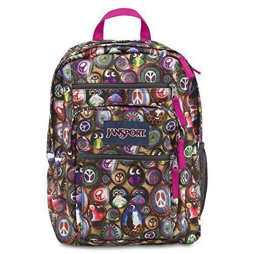 JanSport Big Student Backpack - Multi Painted Stones
