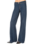 New 24 Womens J Brand Jeans Wide Leg Malik Dark... - $29.99
