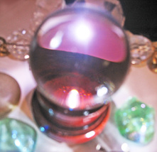 Haunted FREE W $200 order 7X COVEN CAST CRYSTAL BALL MAGICK WITCH CASSIA4 - Freebie