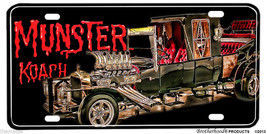 The Munster Koach License Plate Made In Usa - $31.58