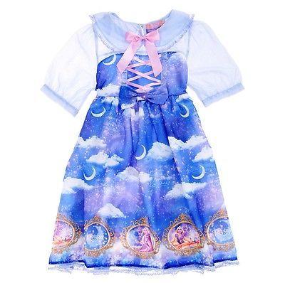 Angelic Pretty x Disney Store Japan Dreamy Luna Rapunzel Lolita OP Kawaii Dress image 2