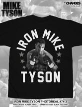 Iron Mike Tyson Photoreal Boxing World Champion Boxer Sports KO Shirt 74-3 - $25.44+