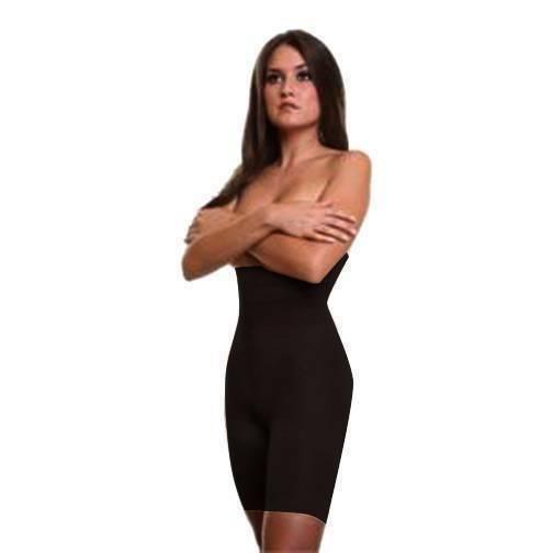 NEW WOMEN'S ELEGANT HIGH WAIST HIP UP GIRDLE SHAPEWEAR  SHORTS PANTY BLACK #1267