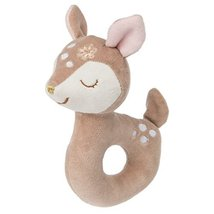 Mary Meyer Baby Rattle, Itsy Glitzy Fawn - $12.99