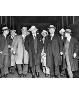 Al Capone Mafia TKK Vintage 8X10 BW Mobster Memorabilia Photo - $6.99