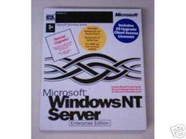 Windows NT Server Enterprise Edition 4.0; Upgrade Only - $179.00