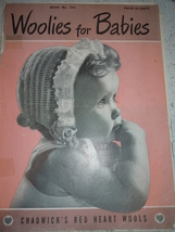 Woolies for Babies Crochet Pattern Book Chadwick's Red Heart Wools - $5.99
