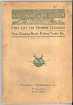 National Sportsman 1900 trade catalog guns camping fishing tackle - $65.00