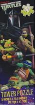 Jigsaw Tower Puzzle Teenage Mutant Ninja Turtles Brand new 5x18.8 inch 5... - $5.89