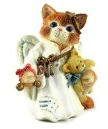 "Calico Kittens ""Hark A Herald Angel"" by Enesco  (D) - $11.00"