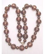 GOLDSTONE & COPPER NECKLACE - $20.00