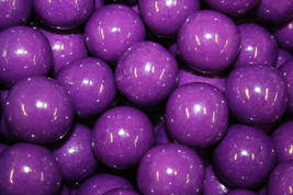 Gumballs Purple 25mm Or 1 Inch (285 Count), 5 Lbs - $25.59