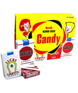 CANDY CIGARETTES 1 BOX AT 24 COUNT - $16.59