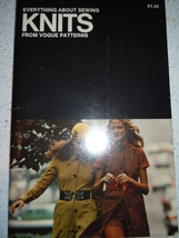 Everything About Sewing Knits From Vogue Patterns 1971 - $6.99