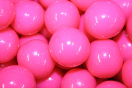 Gumballs Pink 25mm Or 1 Inch (57 Count), 1 Lb - $9.89