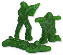 Gummy Candy Albanese Green Army Guys, 5 Lbs - $21.74