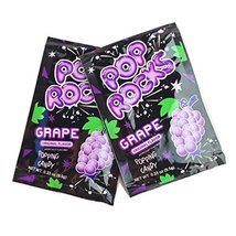 POP ROCKS Popping Candy, Grape, 0.33 oz, 24 Count - $18.30