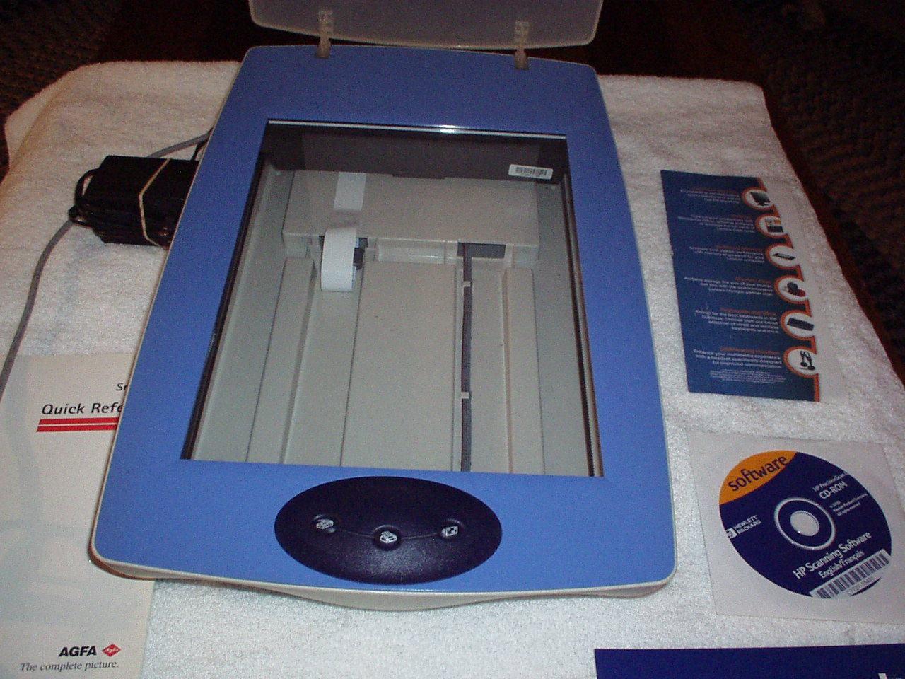Umax 2000p scanner