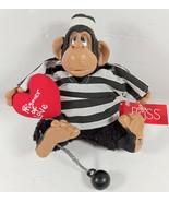 """Russ Berrie Kathleen Kelly """"Prisoner of Love"""" #2086 resin w bean bag ape... - $19.79"""