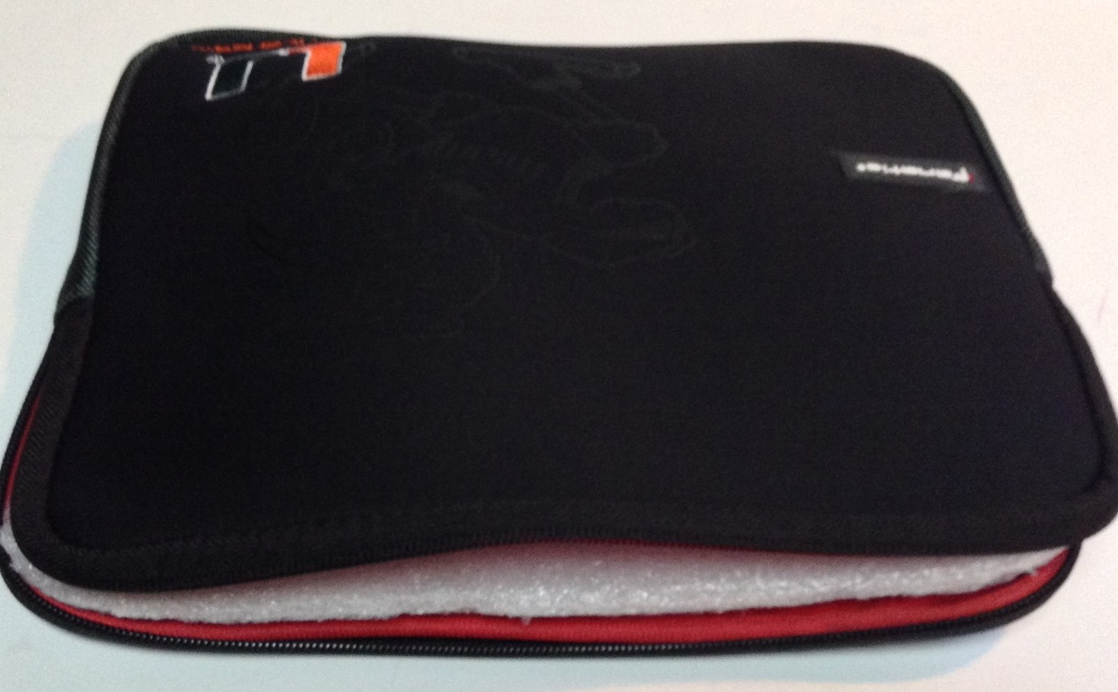 Miami Hurricanes University Tablet Ipad Laptop Protection Case by Fanatic NWT
