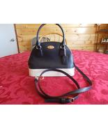 NWT Coach Mini Cora Domed Satchel in BiColor Crossgrain Leather F34517 - $135.00