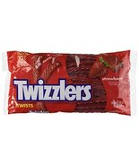 TWIZZLERS Licorice Candy, Strawberry, 16 Ounce - $7.00