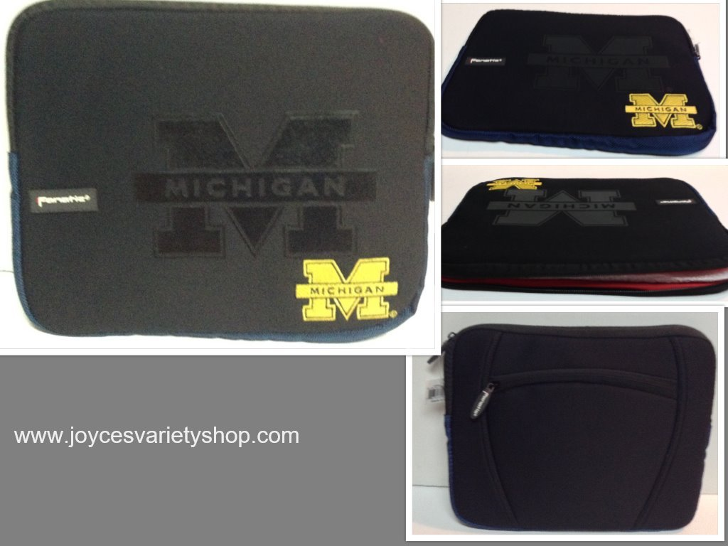 Michigan laptop case 2 collage