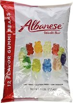 Albanese Candy, 12 Flavor Gummi Bears, 5 Pound Bag - $11.99