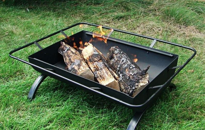Portable Outdoor Backyard Patio Fire Pits Firepits Grill Barbeque Barbecue BBQ