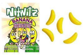 Nitwitz Banana Heads Candy - $62.80