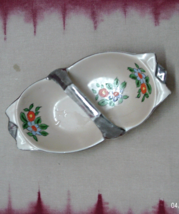 Vintage Hand Painted Decorative Candy Bowl // Basket Made in Japan - $5.00