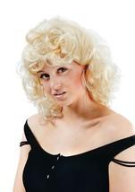 50's High School Curly Wig. Blonde. - $6.08