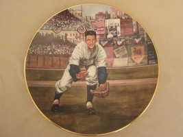 BILLY MARTIN: THE RESCUE CATCH collector plate GREAT MOMENTS IN BASEBALL - $37.74