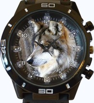 Mexican Wild Wolf Trendy Sports Style Unisex Gift Watch - $34.99