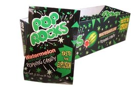 Watermelon Pop Rocks Candy Packs 18 Count - $16.92