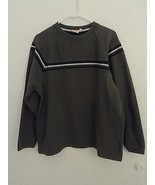 Men's Sideout Sweater Size L Green Olive - $18.80