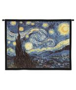 34x26 STARRY NIGHT Van Gogh Abstract Fine Art Wall Hanging - $49.95