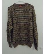 Vintage Stone Haven Sweater Multicolor Size L Large Ramie Cotton Men's - $25.60