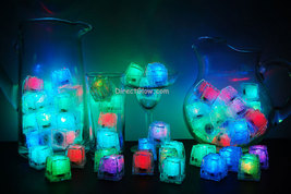 Set of 72 Rainbow LiteCubes Brand LED Light up Ice Cubes - $129.95