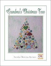 Grandma's Christmas Tree cross stitch chart CM ... - $8.10