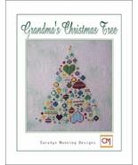 Grandma's Christmas Tree cross stitch chart CM Designs - $8.10