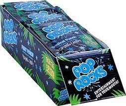 Pop Rocks - Tropical Fruit Punch Popping Candy. 18 Pcs Per Display Unit) Individ - $15.56