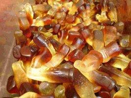 Candy, Gummi Cola Bottles, 5 Lb. Bag - $19.46