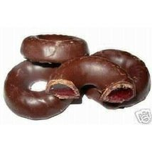 Chocolate Raspberry Rings, 1LB - $11.73