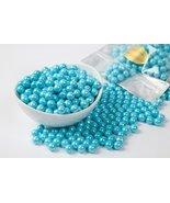 Pearl Powder Blue Sixlets (1 Pound Bag) - $8.84