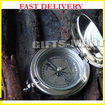 Marine Collectible Solid Brass Push Button Compass - Lot of 50 Pcs-New Y... - $319.00