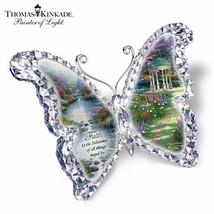 "#122078001 *Thomas Kinkade ""Faith"" Butterfly Sc... - $52.75"