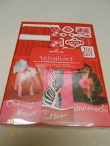 NEW HALLMARK VALENTINES GIVE A LITTLE LOVE CARDS STICKERS BAGS & ENVELOP... - $5.45