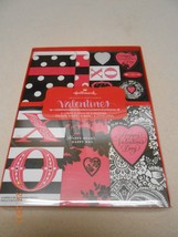 NEW HALLMARK VALENTINES GIVE A LITTLE LOVE CARDS STICKERS BAGS & ENVELOP... - $4.94