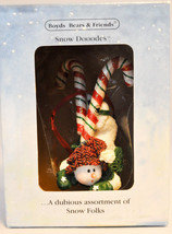 Boyds Bears & Friends: Dabney Sweetski - 25056 - Snow Dooodes image 2